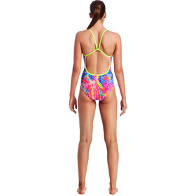 Funkita Single Strap One Piece Swimsuit Dame kaleidocolour